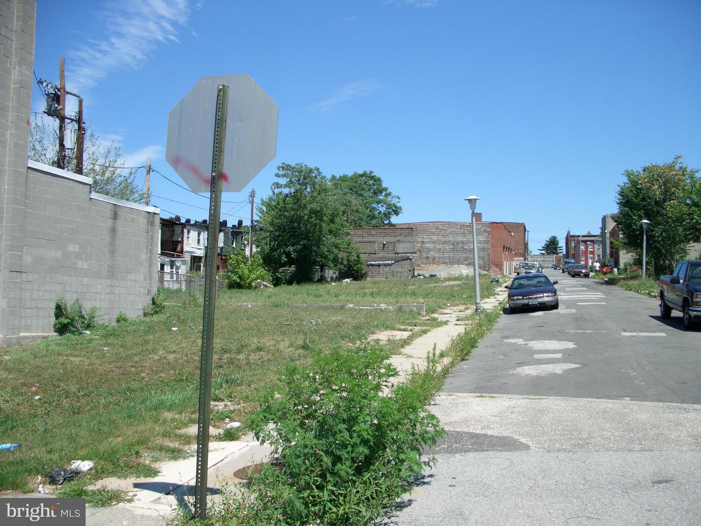 Land for Sale at 2001 Eagle St Baltimore, Maryland 21223 United States