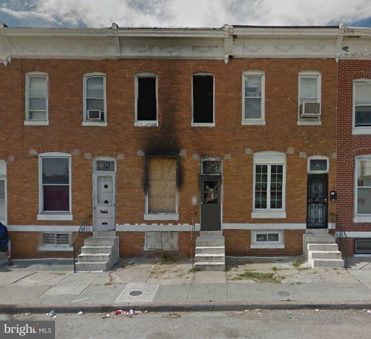 Single Family for Sale at 12 Catherine St S Baltimore, Maryland 21223 United States