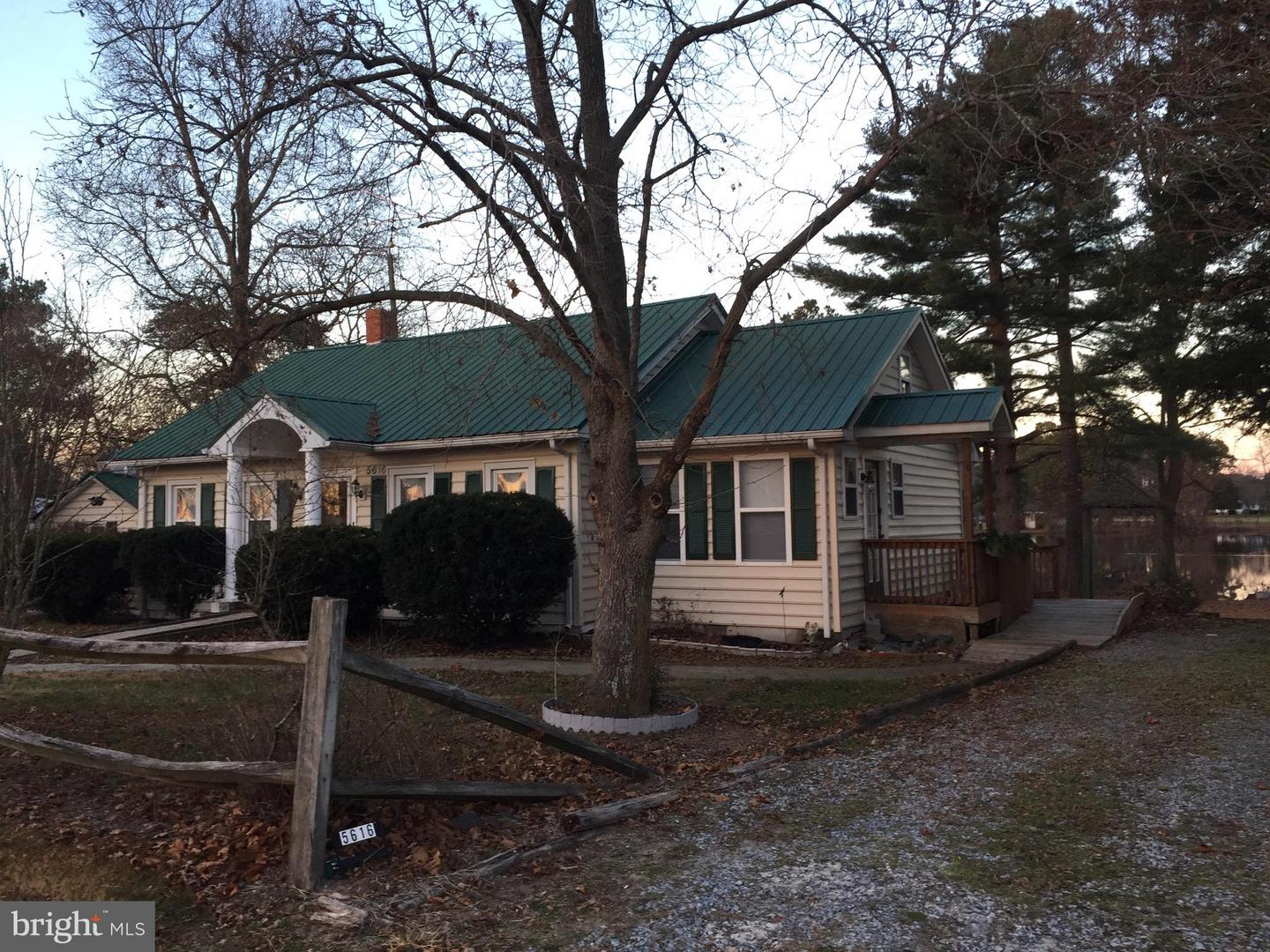 Single Family for Sale at 5616 Galestown Rd Seaford, Delaware 19973 United States