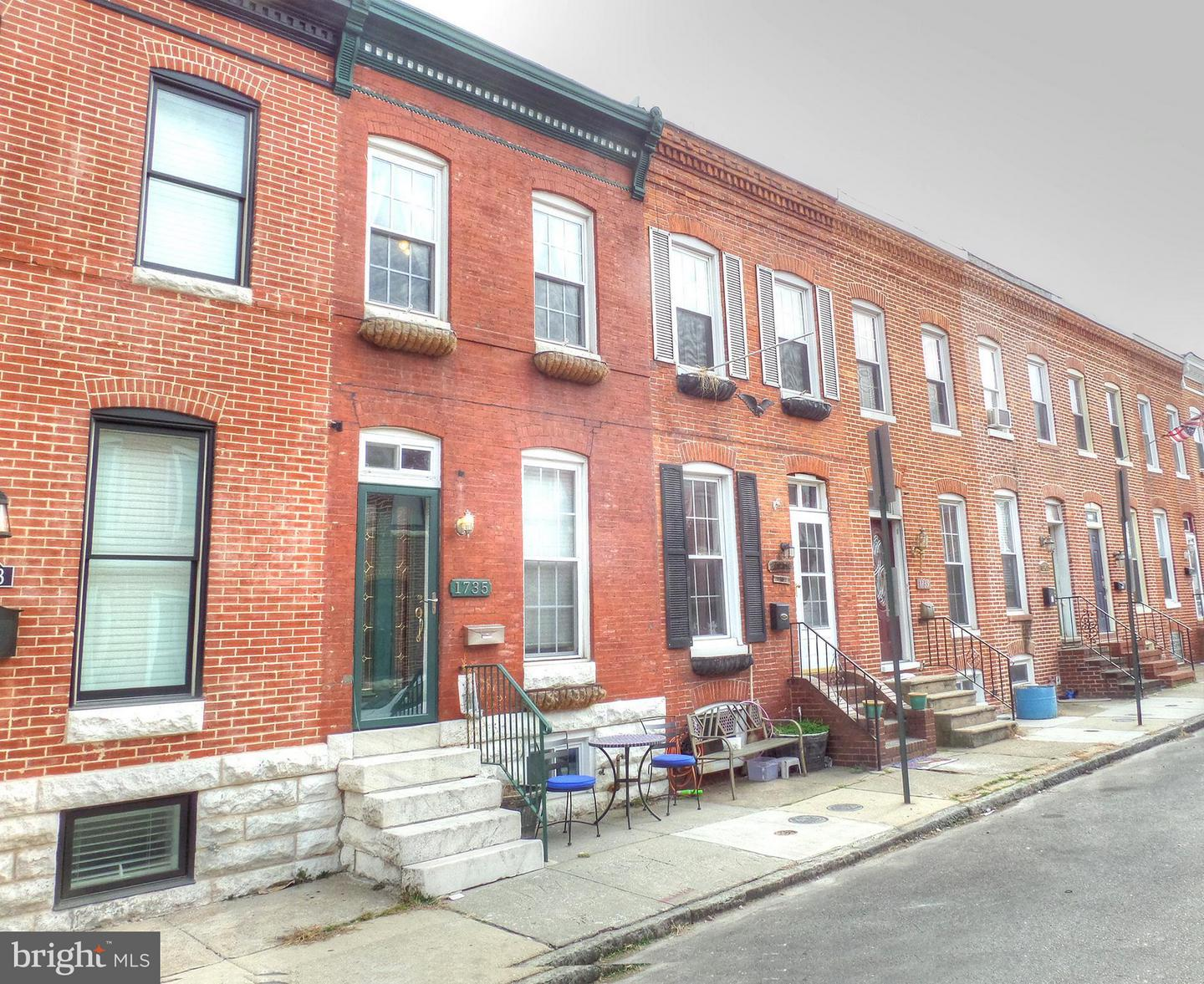 Single Family for Sale at 1735 Clarkson St Baltimore, Maryland 21230 United States