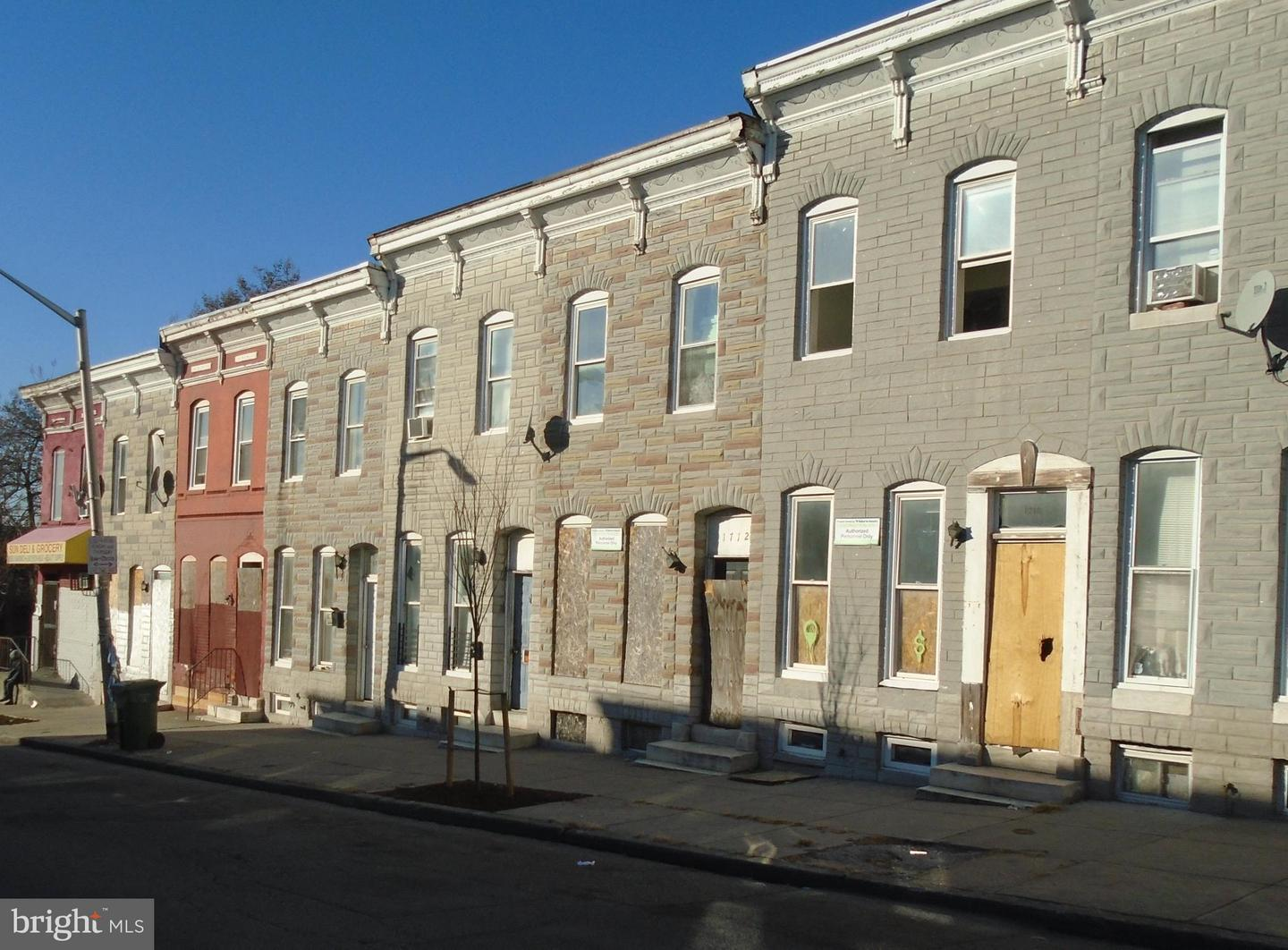 Single Family for Sale at 1712 Presstman St Baltimore, Maryland 21217 United States