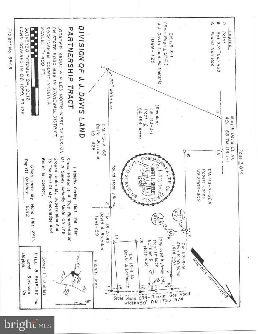 Land for Sale at 636 Runkles Gap Road Elkton, Virginia 22827 United States