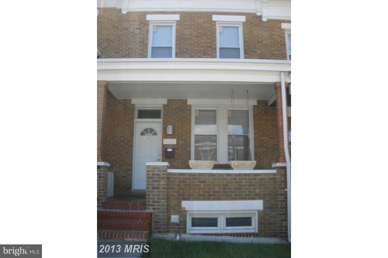 Single Family for Sale at 2817 Pelham Ave Baltimore, Maryland 21213 United States