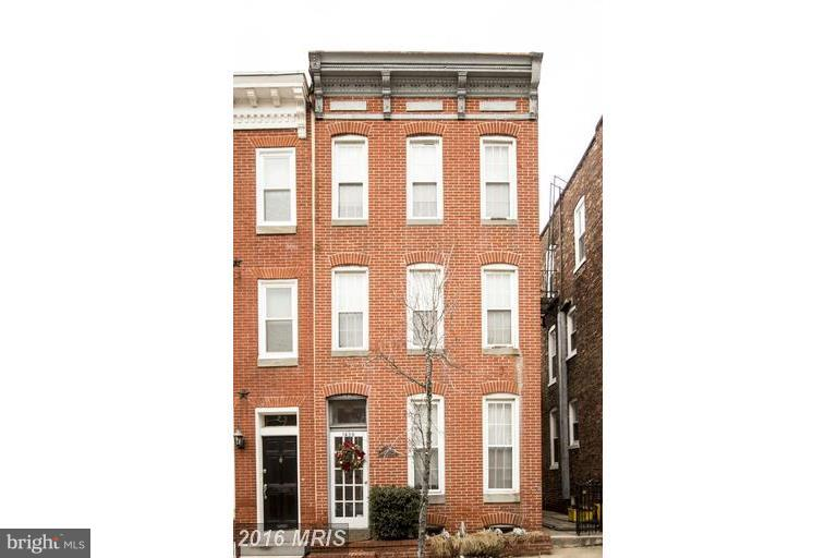 Other Residential for Sale at 1436 William St Baltimore, Maryland 21230 United States