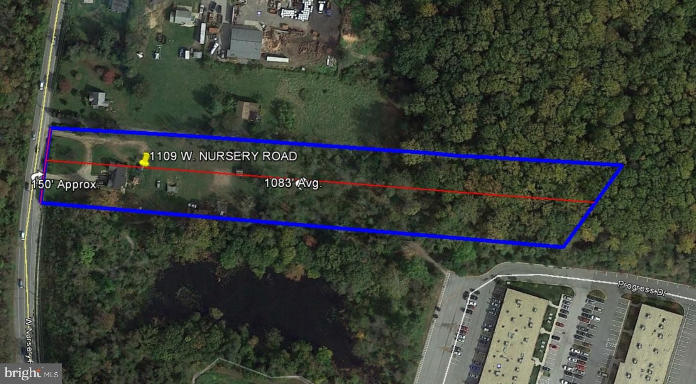 Land for Sale at 1109 Nursery Rd Linthicum, Maryland 21090 United States