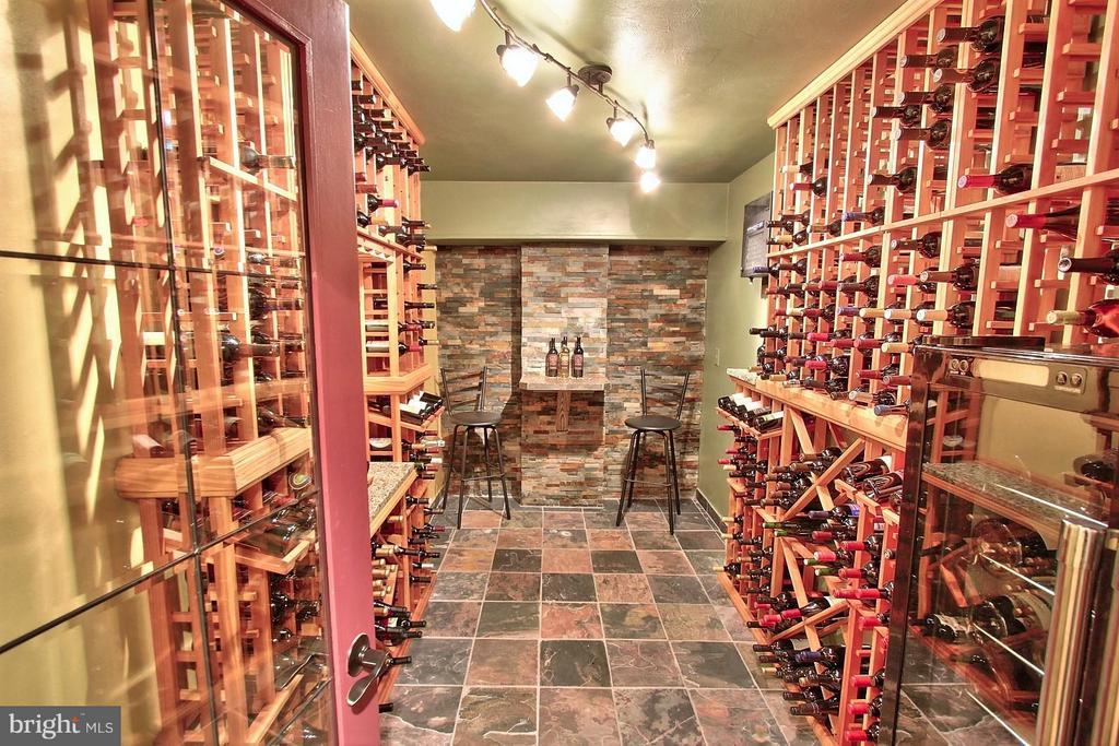 Walk-In Wine Cellar on Lower Level - 6818 RIVER RD, FREDERICKSBURG