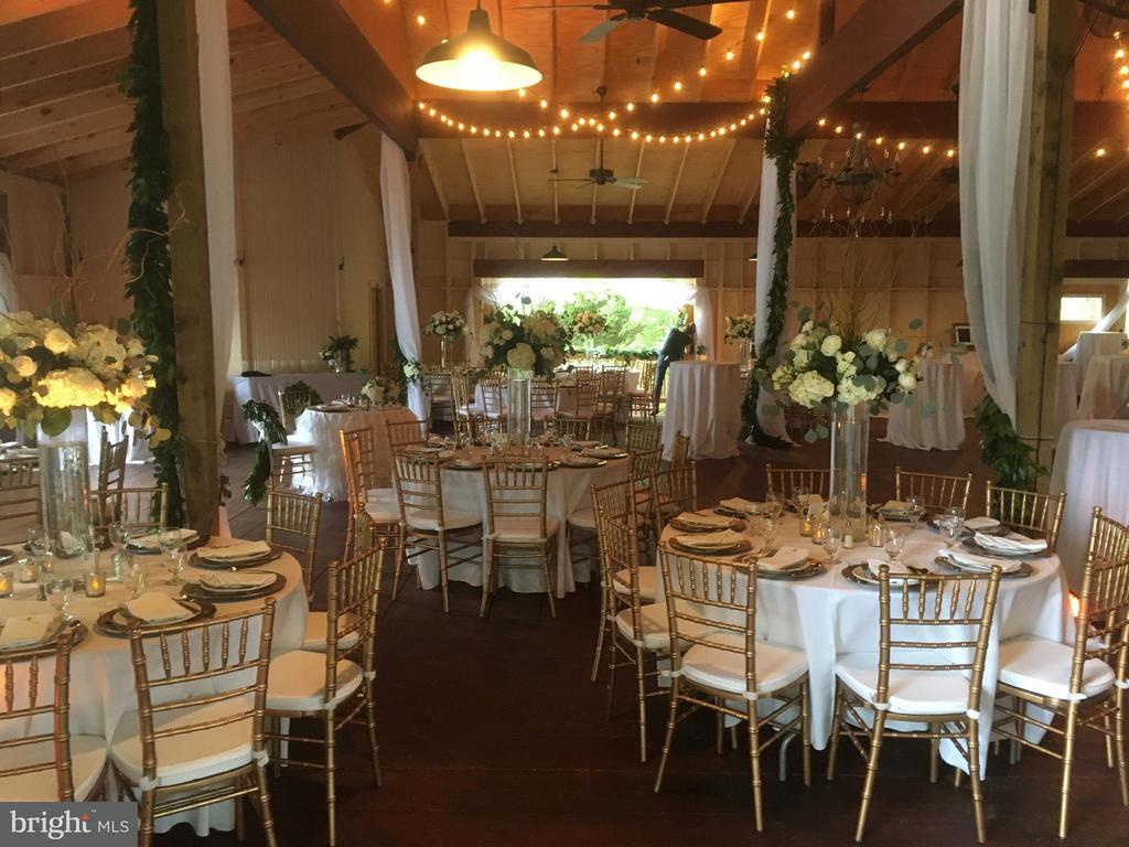Barn/Venue Interior Set for Reception - 6818 RIVER RD, FREDERICKSBURG