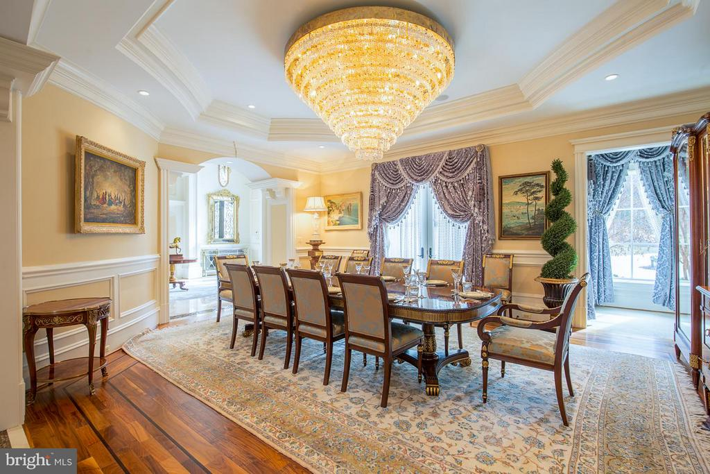 Formal Dining Room - 904 CHINQUAPIN RD, MCLEAN