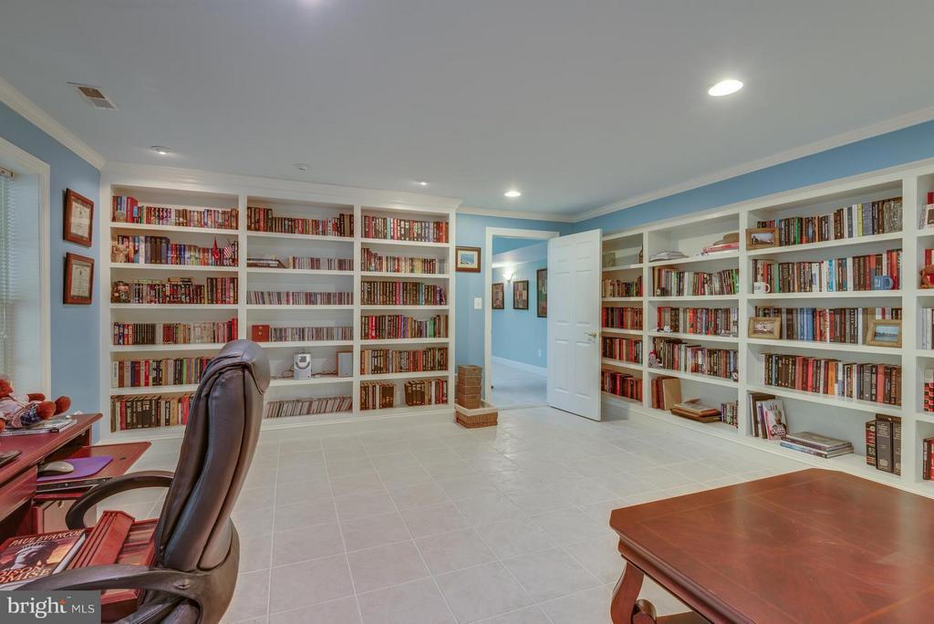 5th bedroom lower level - 12100 WALNUT BRANCH RD, RESTON