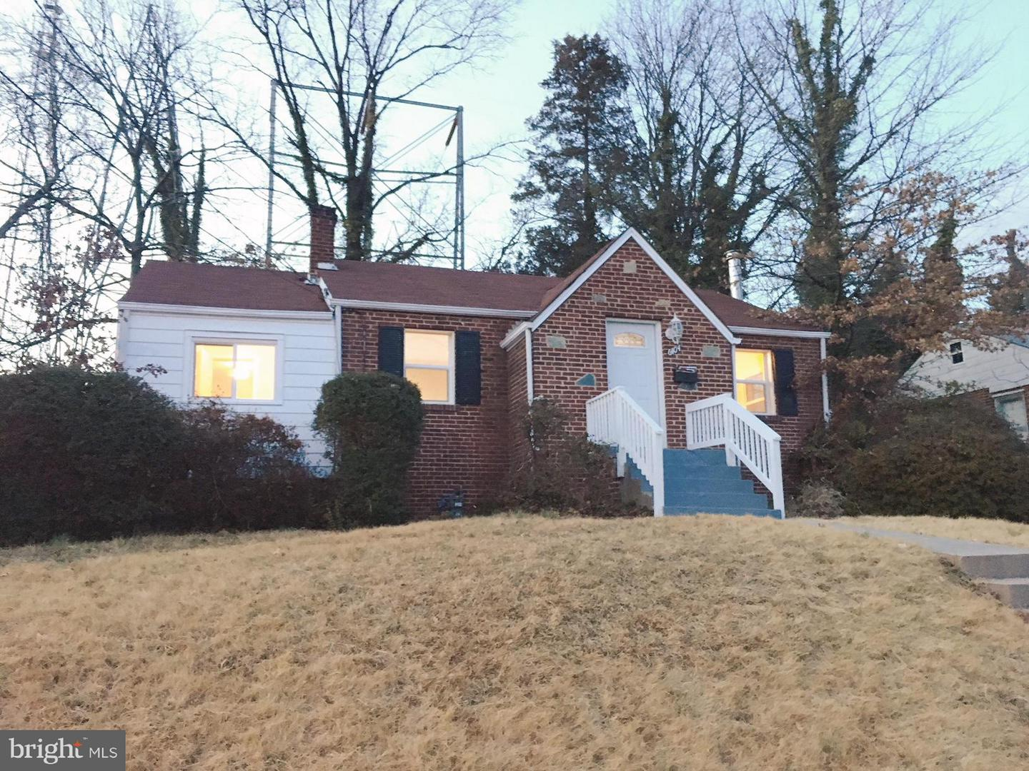 Photo of home for sale at 6404 Elliott Place, Hyattsville MD