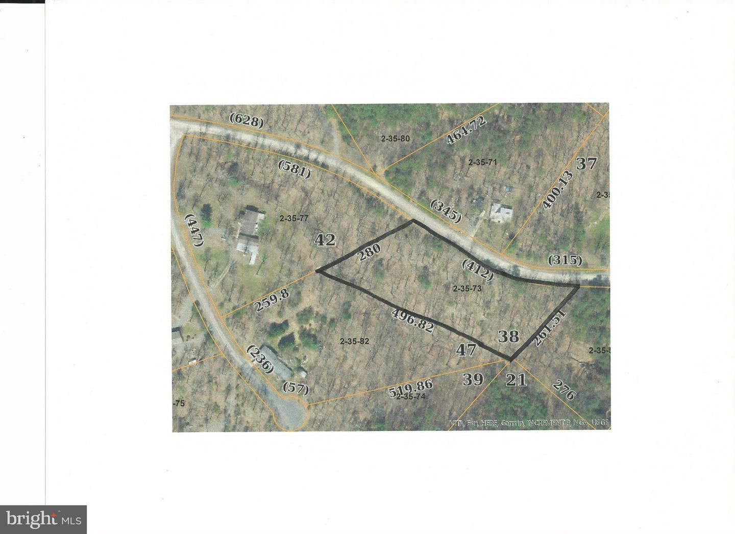 Land for Sale at Janes Way Yellow Spring, West Virginia 26865 United States