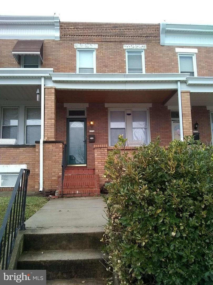 Single Family for Sale at 2807 Brendan Ave Baltimore, Maryland 21213 United States