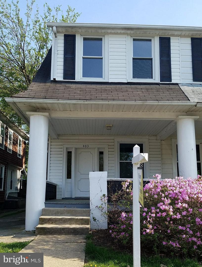 Single Family for Sale at 403 Charter Oak Ave Baltimore, Maryland 21212 United States