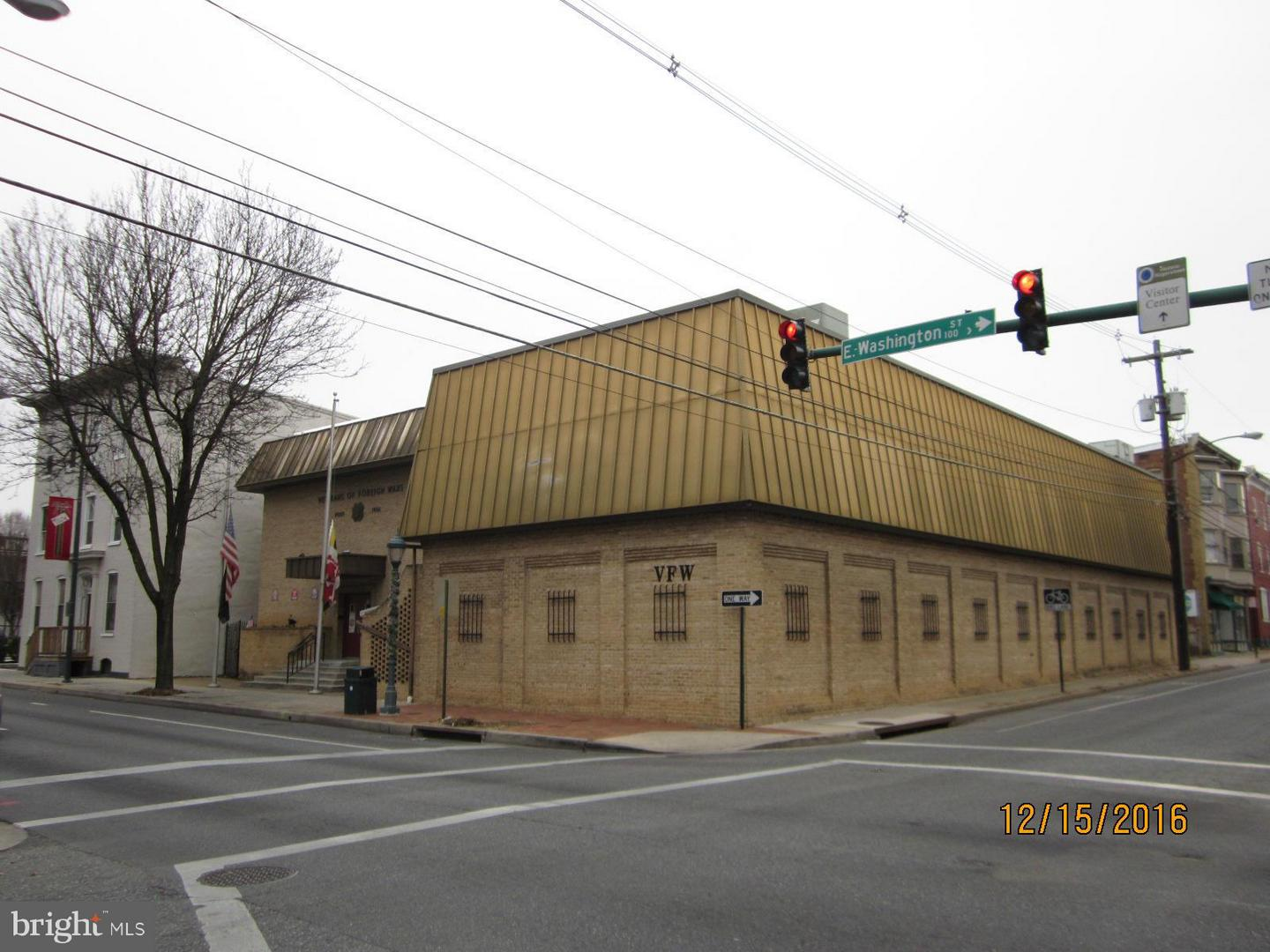 Commercial for Sale at 70 E. Washington St Hagerstown, Maryland 21740 United States