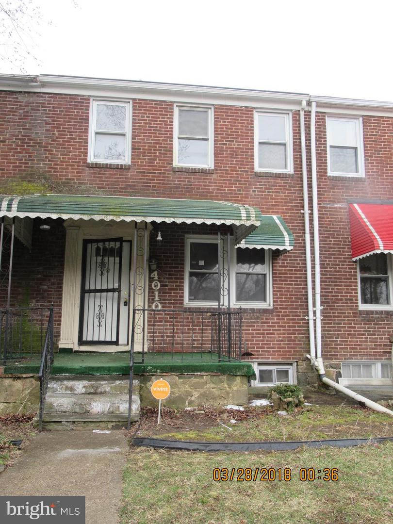 Single Family for Sale at 4010 Garrison Blvd Baltimore, Maryland 21215 United States