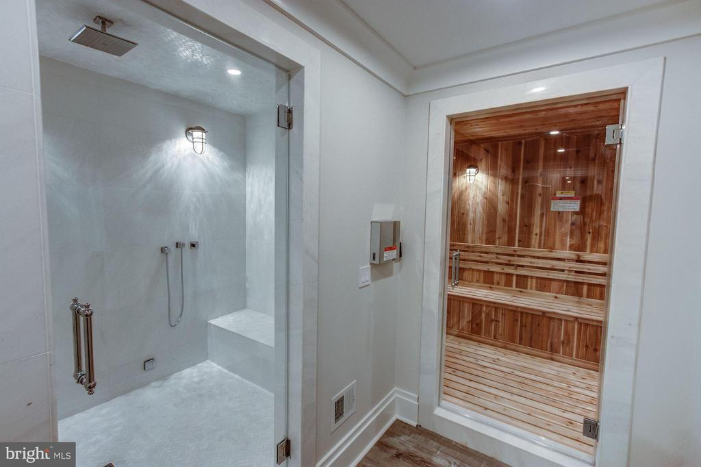 Wellness Suite with Dry & Steam Saunas - 1181 BALLANTRAE LN, MCLEAN