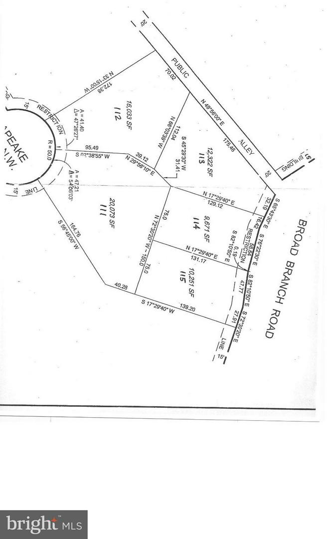 Land for Sale at 4654 Broad Branch Rd NW Washington, District Of Columbia 20008 United States