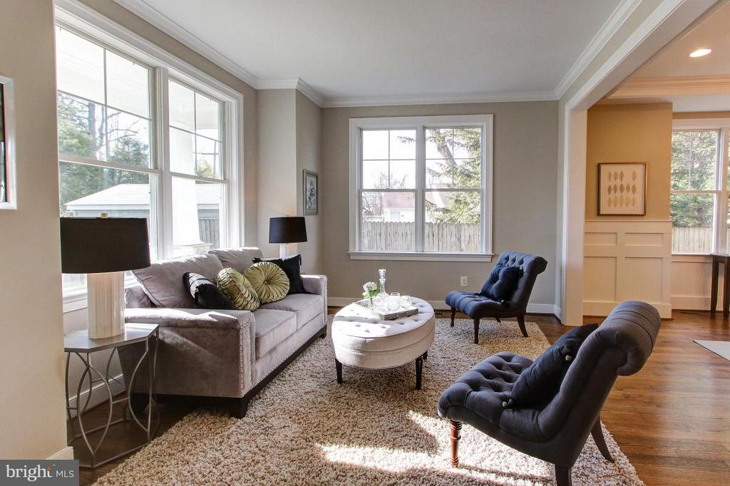 Living Room - 4411 COLFAX ST, KENSINGTON