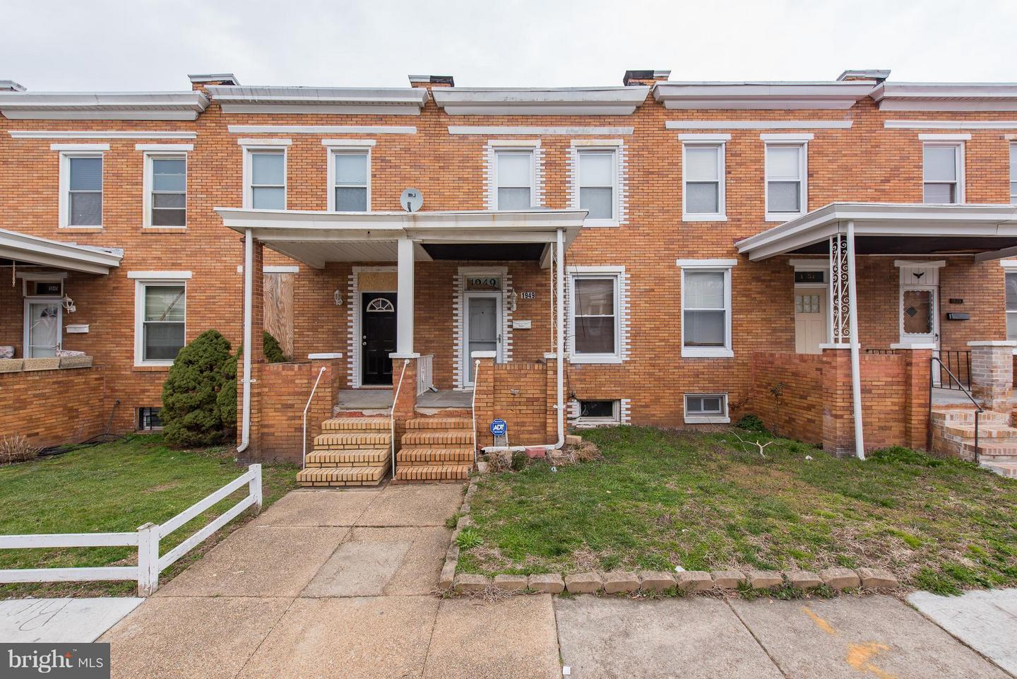 Single Family for Sale at 1949 Griffis Ave Baltimore, Maryland 21230 United States
