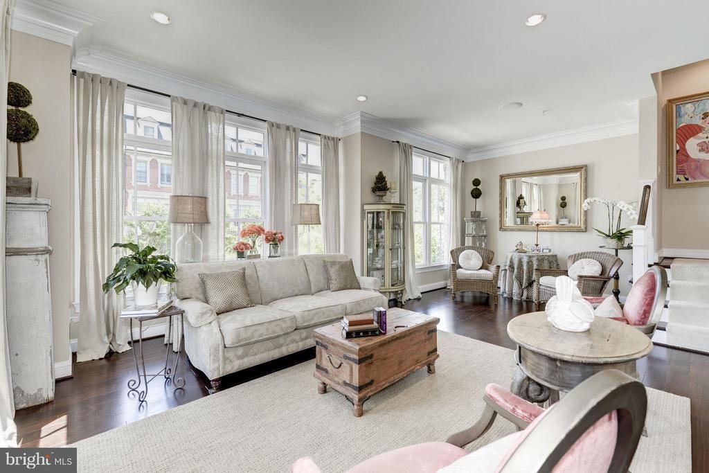 Living Room - 10887 SYMPHONY PARK DR, NORTH BETHESDA