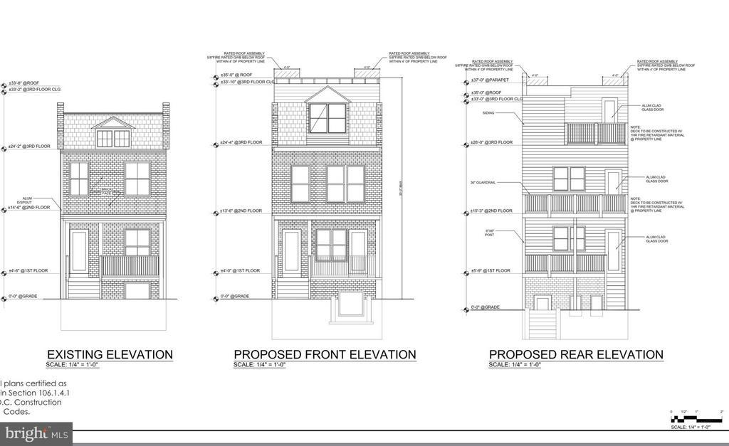 Exterior (Front) - 3613 10TH ST NW, WASHINGTON