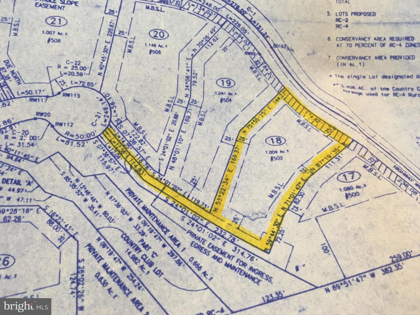 Land for Sale at 502 Pond View Ln Hunt Valley, Maryland 21030 United States