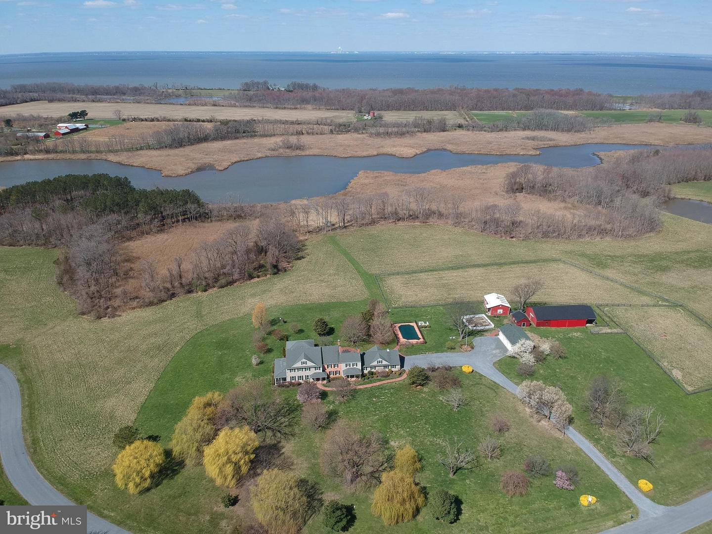 Farm for Sale at 6778 Burris Rd Rock Hall, Maryland 21661 United States