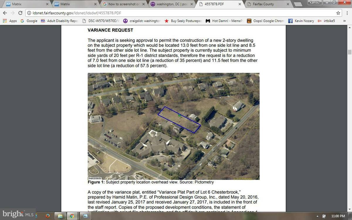 Land for Sale at 6313 Old Dominion Dr McLean, Virginia 22101 United States