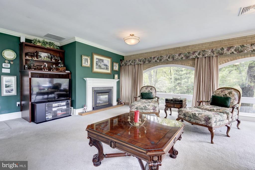 Light filled terrace room overlooking land - 11308 HUNTING HORSE DR, FAIRFAX STATION