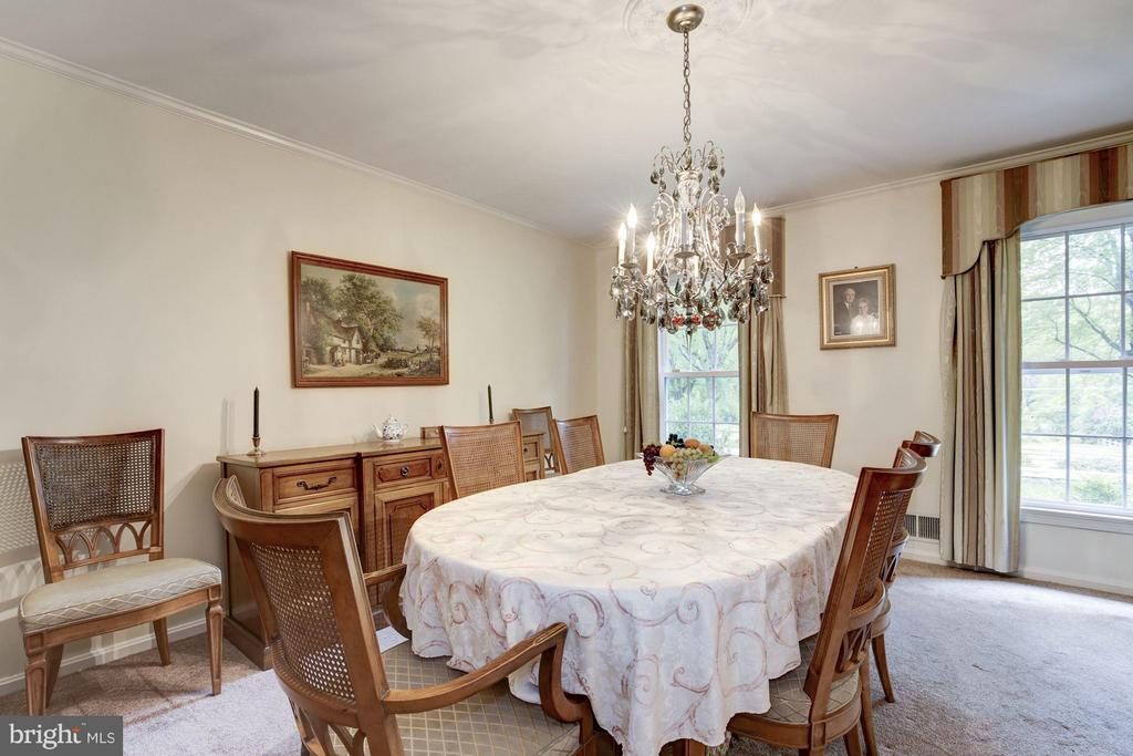 Dining Room - 11308 HUNTING HORSE DR, FAIRFAX STATION