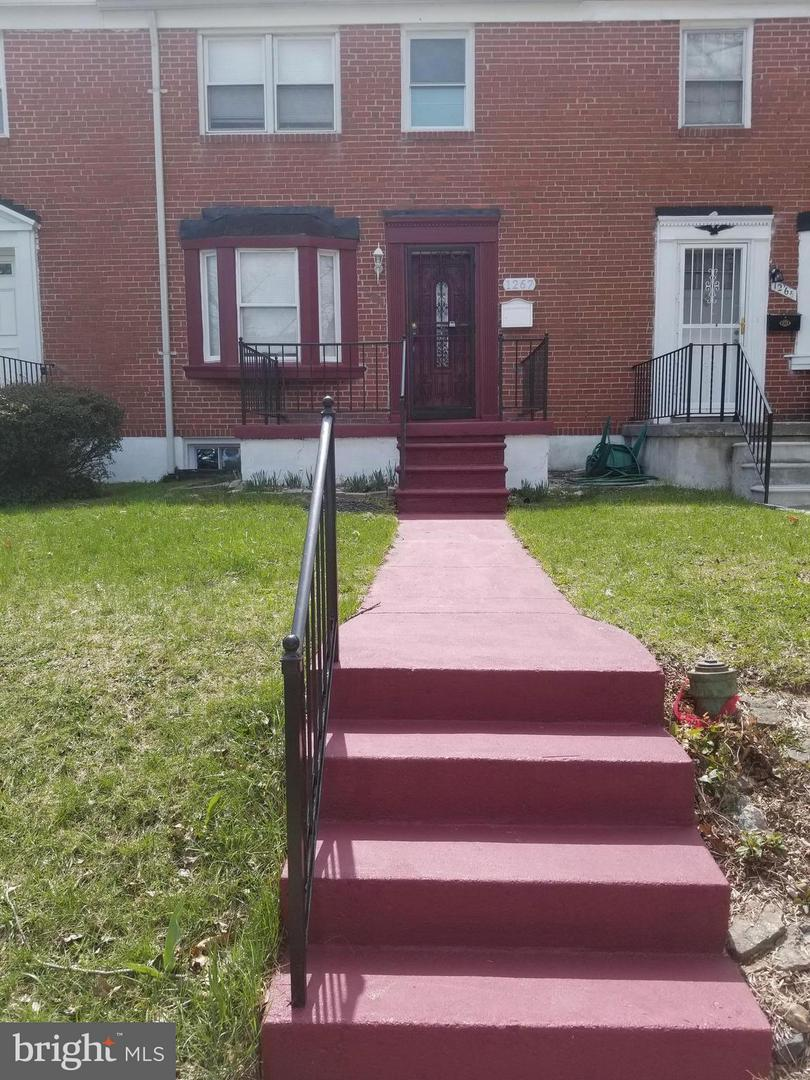 Single Family for Sale at 1267 Walker Ave Baltimore, Maryland 21239 United States