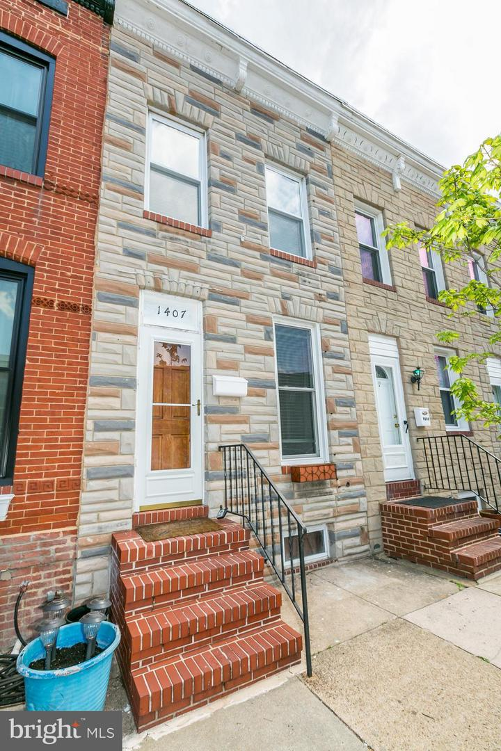 Single Family for Sale at 1407 Andre St Baltimore, Maryland 21230 United States