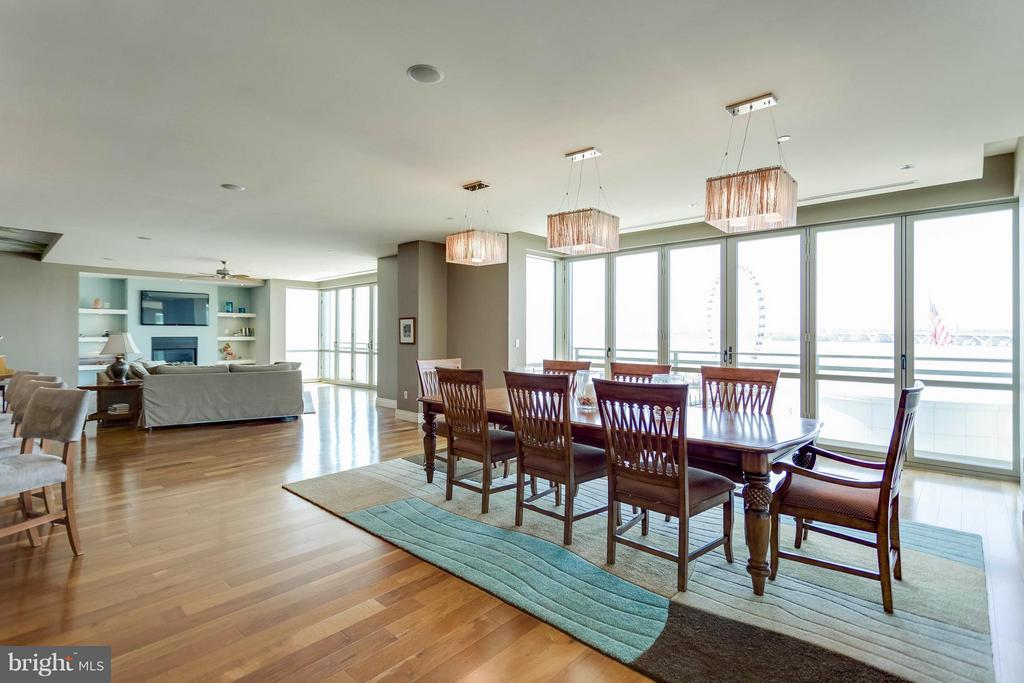 Dining Room - 147 WATERFRONT ST #402, NATIONAL HARBOR