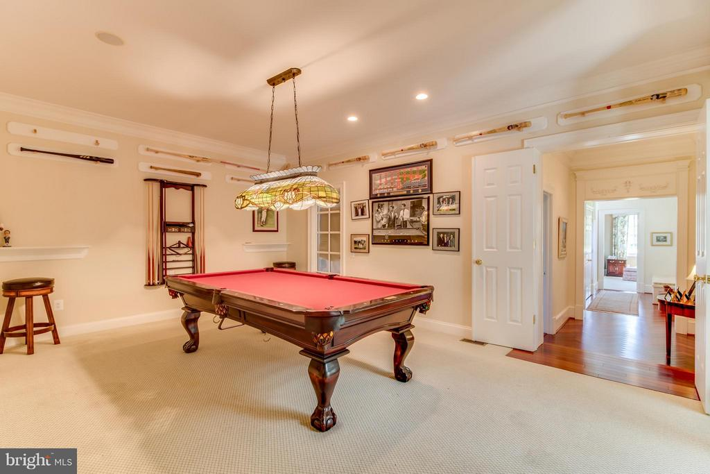 Billiards room - 2916 SMITHFIELD CT, FREDERICKSBURG