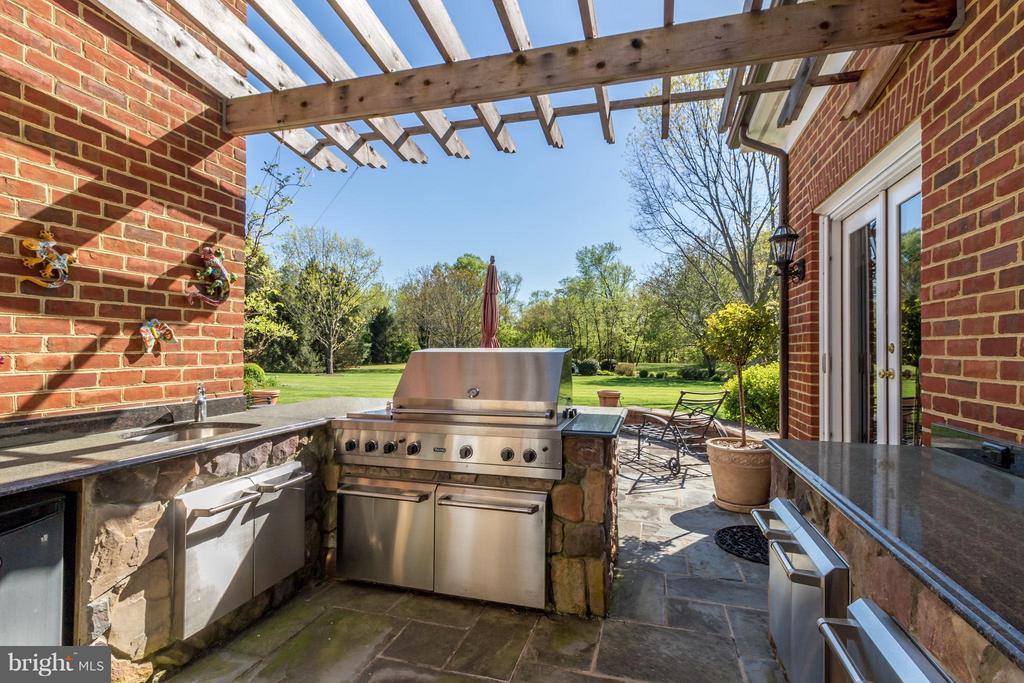 Outdoor grill area - 2916 SMITHFIELD CT, FREDERICKSBURG