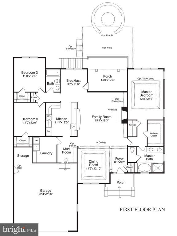FLOOR PLAN - 3507 LAKEVIEW PKWY, LOCUST GROVE