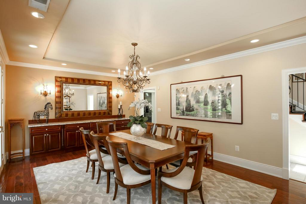 Large Dining Room - 2829 TILDEN ST NW, WASHINGTON