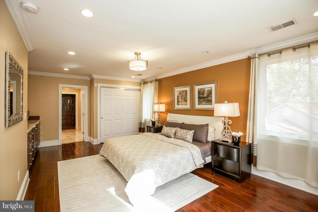 Master Bedroom Suite with Office & Media Room - 2829 TILDEN ST NW, WASHINGTON