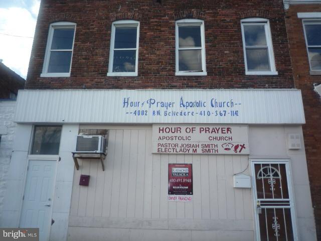 Commercial for Sale at 4002 Belvedere Ave W Baltimore, Maryland 21215 United States