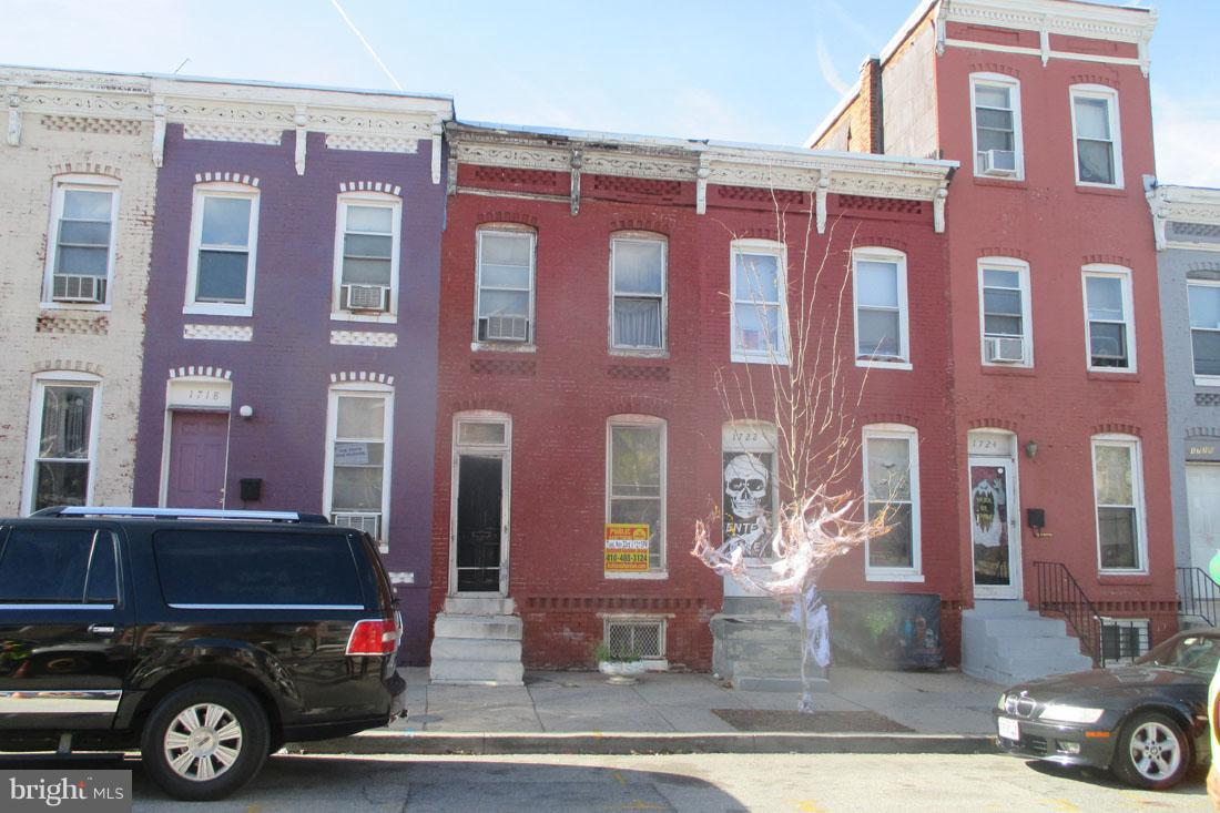 Single Family for Sale at 1720 Calhoun St Baltimore, Maryland 21217 United States