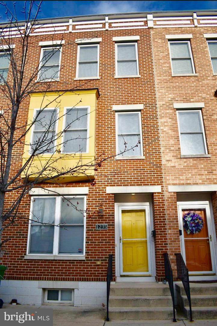 Single Family for Sale at 1235 Caroline St N Baltimore, Maryland 21213 United States