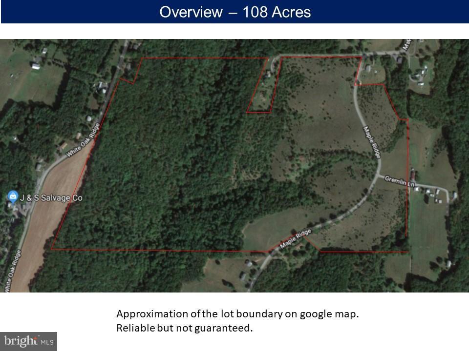 Land for Sale at 14310 Maple Ridge Hancock, Maryland 21750 United States
