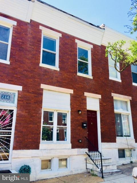 Single Family for Sale at 216 Linwood Ave N Baltimore, Maryland 21224 United States