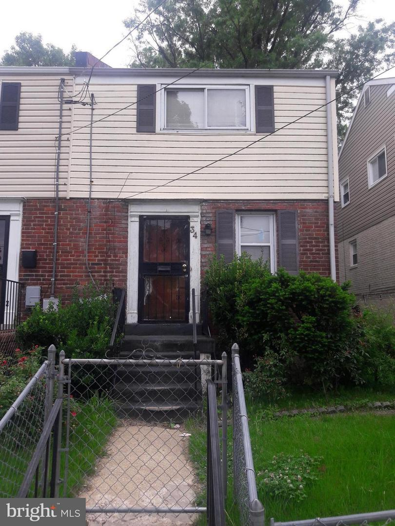 Single Family for Sale at 34 Elmira St SW Washington, District Of Columbia 20032 United States