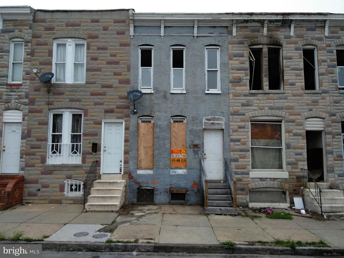 Single Family for Sale at 2106 Eagle St Baltimore, Maryland 21223 United States