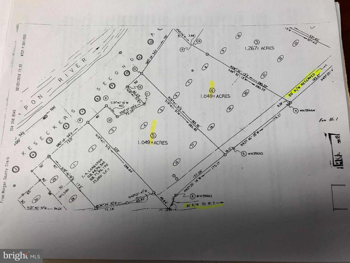 Land for Sale at Off Wv Rt 9/29 Berkeley Springs, West Virginia 25411 United States