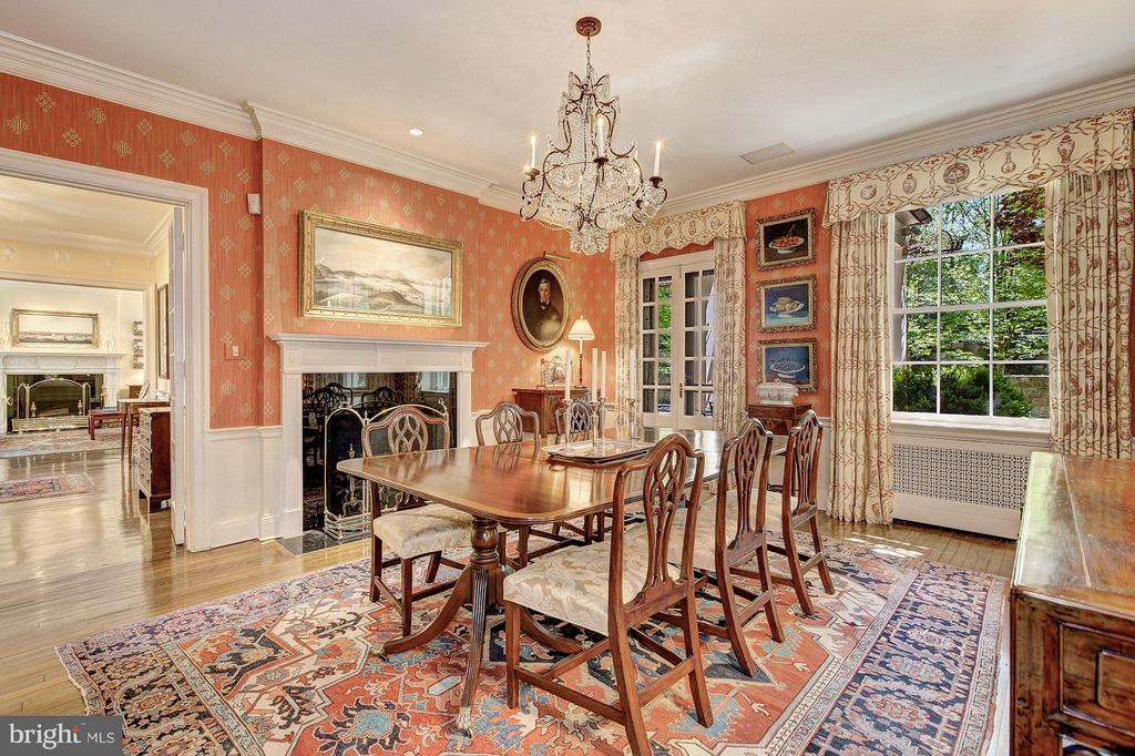 A most beautiful formal dining room - 4880 GLENBROOK RD NW, WASHINGTON