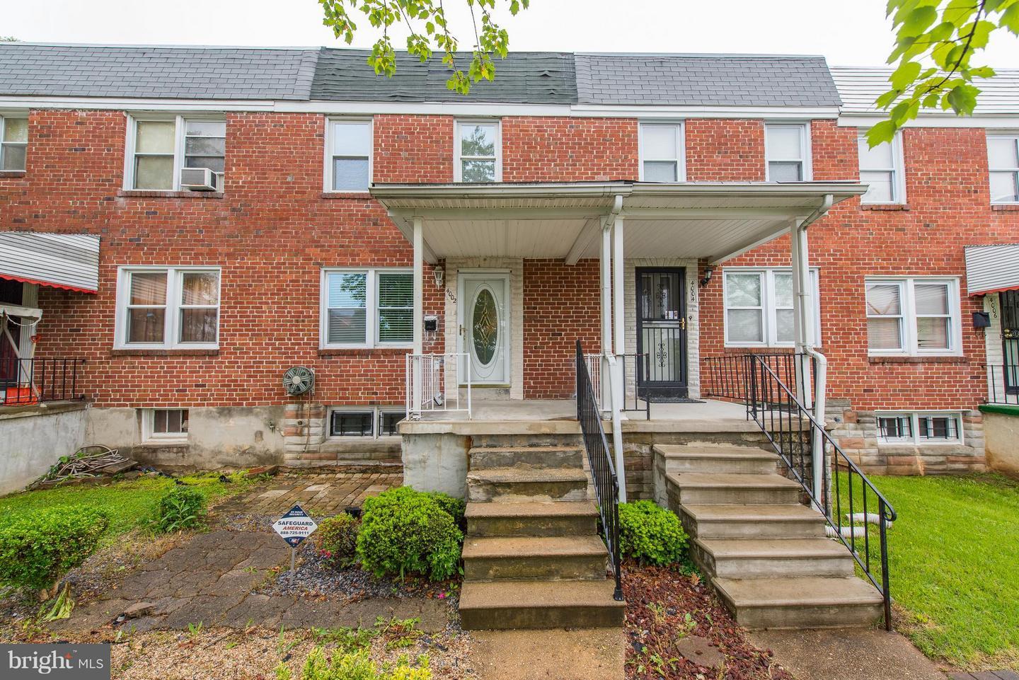 Single Family for Sale at 4002 Rexmere Rd Baltimore, Maryland 21218 United States