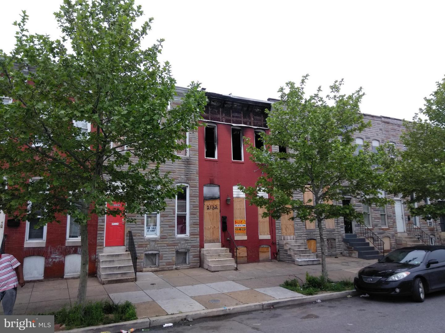 Single Family for Sale at 2132 Wilkens Ave Baltimore, Maryland 21223 United States