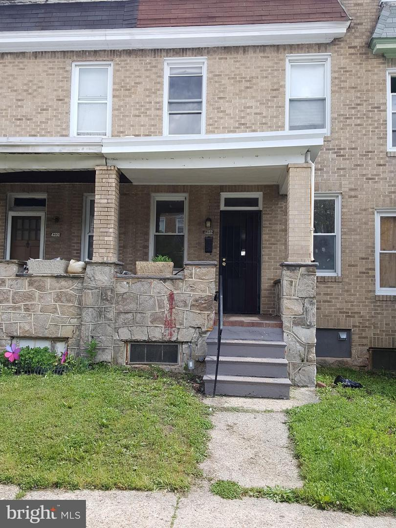 Single Family for Sale at 4252 Nicholas Ave Baltimore, Maryland 21206 United States